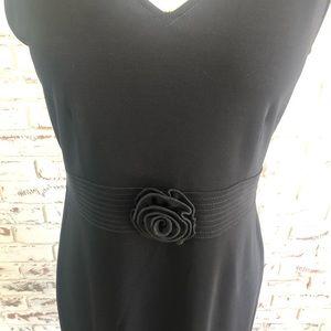 Classiques Entier Sleeveless Dress Flower at Waist